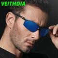 Veithdia 2017 hd hombres diseñador de la marca gafas de sol polarizadas de conducción gafas gafas marco gafas de sol de aluminio y magnesio vb6588