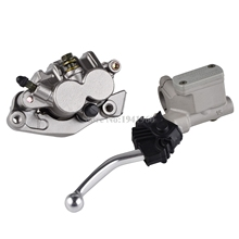 Cheaper Front Master Cylinder Lever & Brake Caliper Pads For Honda XR250R XR400R XR600R CR125R CR250R CRF150F CRF230F CRF 250X 450R 400X