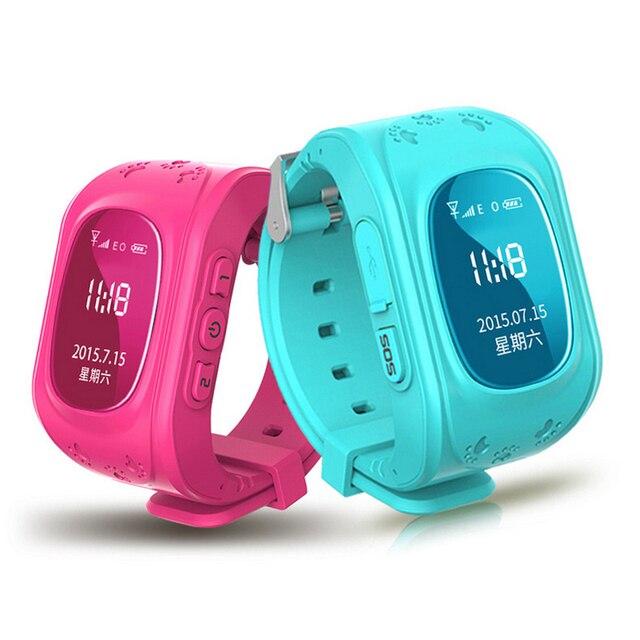 Kid Safe GPS Smartwatch Q50 Телефон Часы Наручные Часы SOS Вызова Finder Locator Tracker Для Ребенка Анти-потерянный Смарт-Монитор Маленький Сын