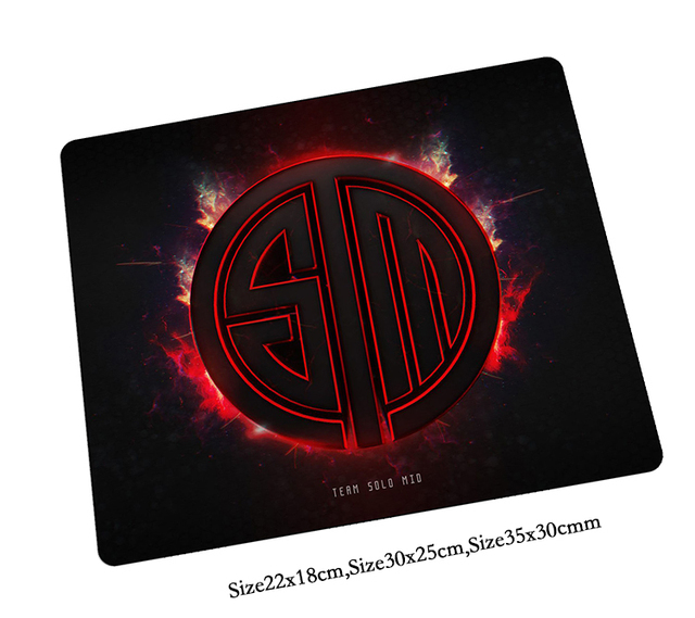 team solo mid mouse pad hd print mousepads best gaming mouse pad
