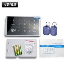 K16 RFID Touch Keypad For Wireless PSTN GSM Alarm Systems Burglar Access Control System Wireless Password Keypad