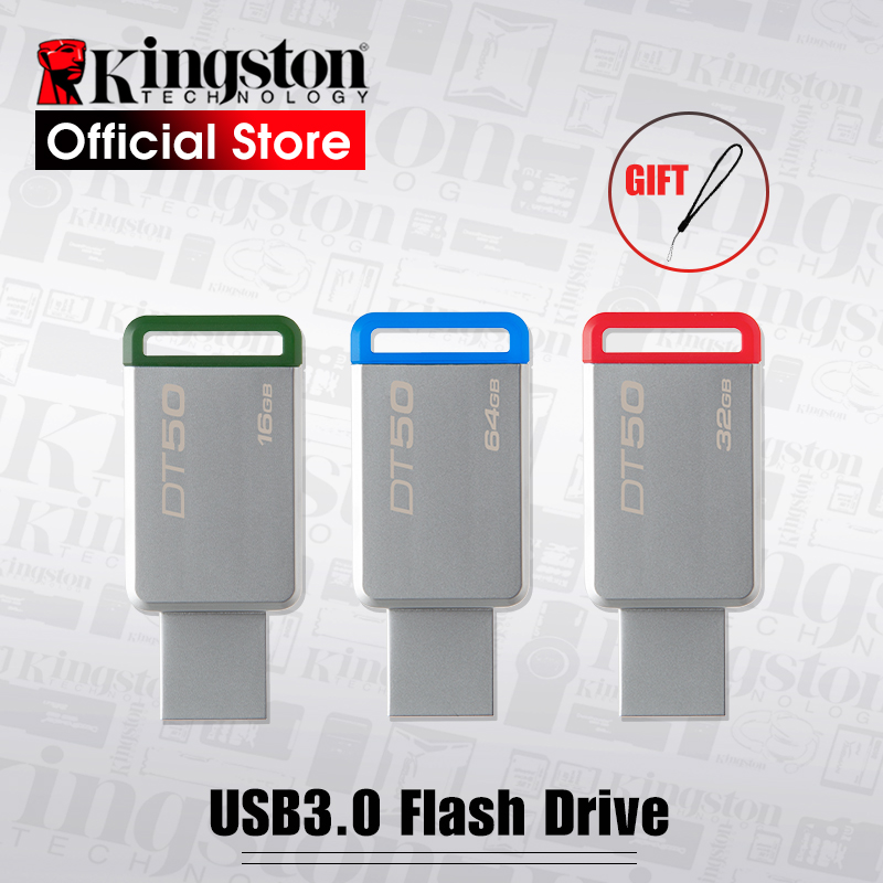 Kingston Digital DT50 USB 3.0 USB Flash Drive 16GB Pendrive 128GB 32GB Pendrive 64GBGB Metal Pen Drives 8GB Memory U Stick|flash disk|usb flash diskkingston usb - AliExpress