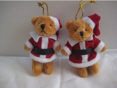 yearning plush toys teddy bear christmas tree ornamentschristmas decorations birthday gifts wedding - Bear Christmas Decorations