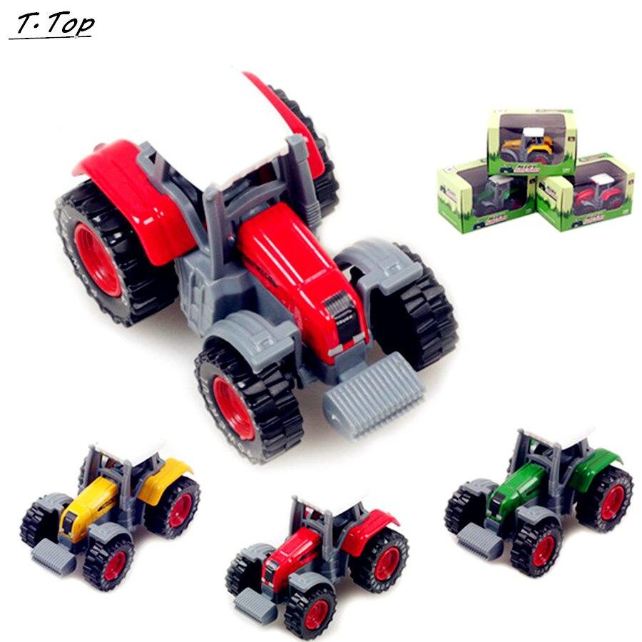 3 цвета 1: 64 сплава огородники модель моделирования развивающие автомобиля для Для Детей Забавные игрушки