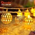 Luz do feriado LED tira 20 lâmpada bolas / Set LED String para festa de casamento luzes de natal decoração