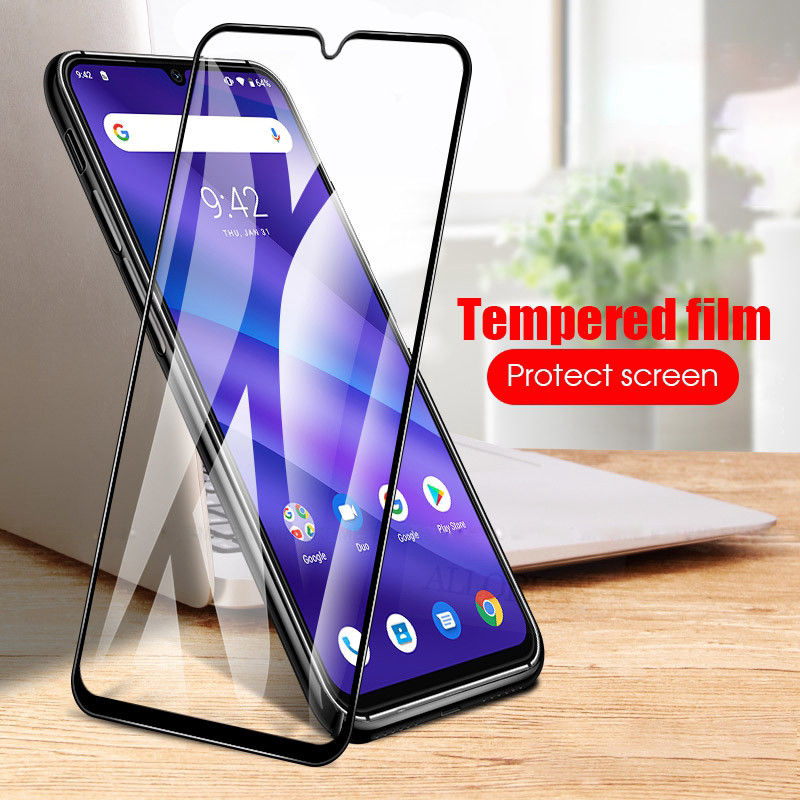 2Pcs Tempered Glass UMIDIGI A5 Pro Full Screen Protector for UMIDIGI A5 Protective phone Glass for UMIDIGI A5 Pro Glass Case in Phone Screen Protectors from Cellphones Telecommunications