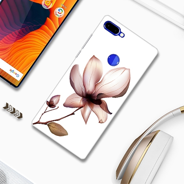 UTOPER Case For Vernee Mix 2 Case Cover For Vernee Mix 2 4gb 64gb Case Wings Girl Pattern DIY Name Coque For Vernee Mix2 6 Case