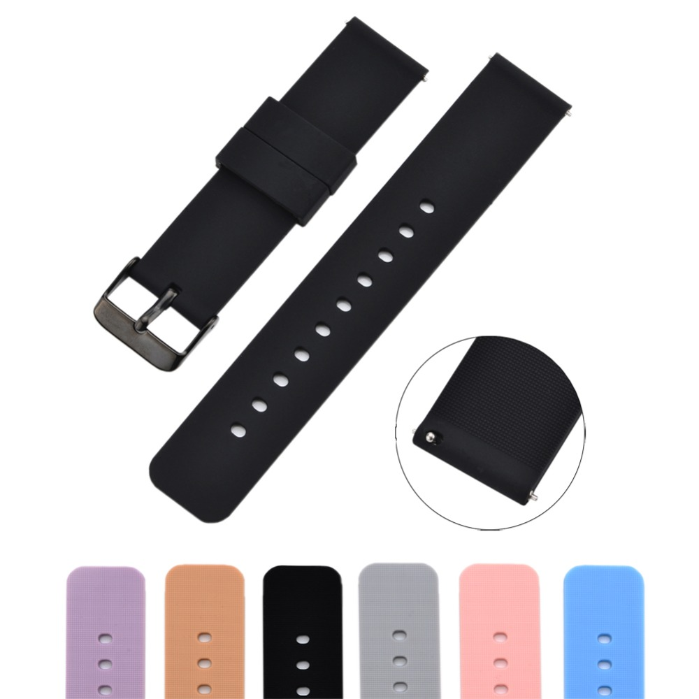 22mm Smart Watch Band For Samsung Gear S3 Sport Straps For Huawei Watch 2 Classic Bracelet For Moto 360 2nd Gen 46mm Pebble 2 SE