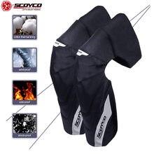 SCOYCO – protège-genou thermique pour moto, couche en coton, résistante au vent et aux chutes, équipement de Sport pour motocycliste, 2020