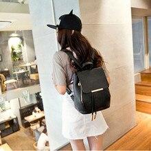 Новые модные женские туфли кожаные рюкзаки девочек-подростков ранцы Женская дорожная сумка студент колледжа сумка Mochila Feminina