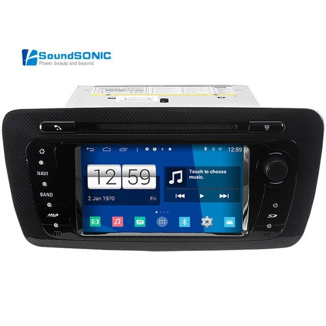 for seat ibiza android 4 4 4 s160 automotivo in dash car pc auto monitor car radio cd dvd gps. Black Bedroom Furniture Sets. Home Design Ideas