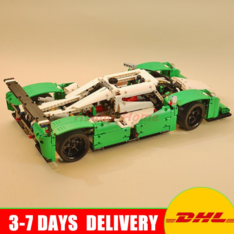 2017 LEPIN 20003 Technic Series The 24 hours Race Car Building Blocks Bricks Set Toys Gifts Clone 42039 lepin technic city series 24 hours race car building blocks bricks model kids toys marvel compatible legoe
