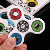 Fidget Spinner Ceramic Bearing EDC Hand Spinner Tri For Kids Autism ADHD Anxiety Stress Relief Focus