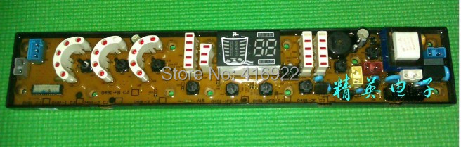 ФОТО Free shipping 100% tested for Fuguists washing machine xqb72-7278 computer board motherboard cj qs0491-2fb plate ON SALE
