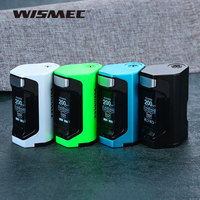 Original WISMEC Luxotic DF 200W TC Box MOD 7ml Built in Refillable Bottle & 200W Max Output E cig Vape Kit VS Luxotic BF Box