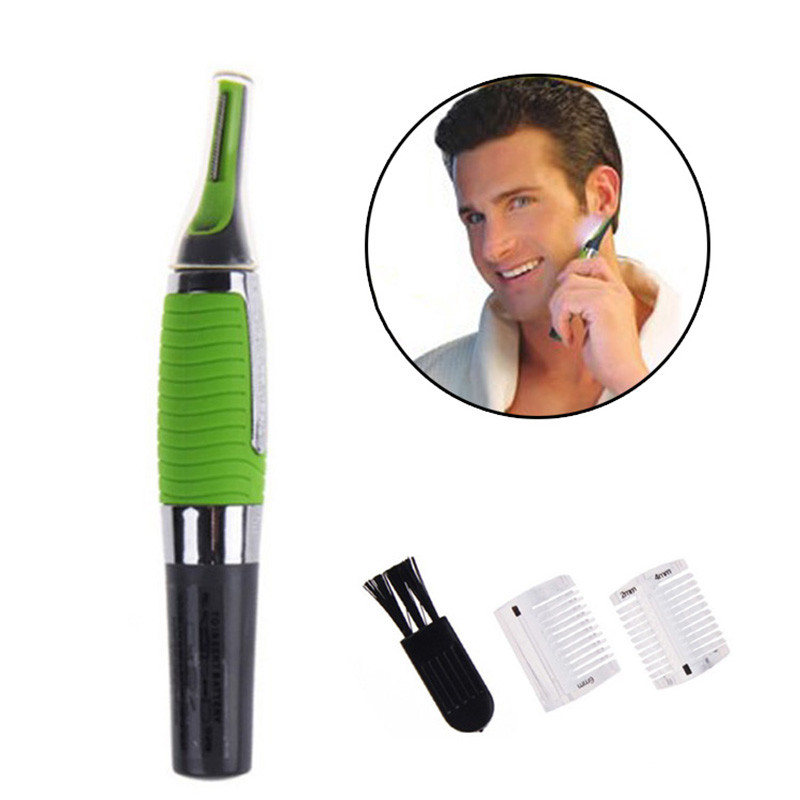 Nose hair Trimmer for men women nose ear face eyebrow hair removal shaving beard hairs cut Shaping Washed Trimmer Clipper razor