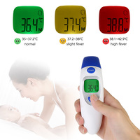 Muti Function Forehead Digital Baby Thermometer Infrared Thermometer With LCD Backlight Termometro Infravermelh
