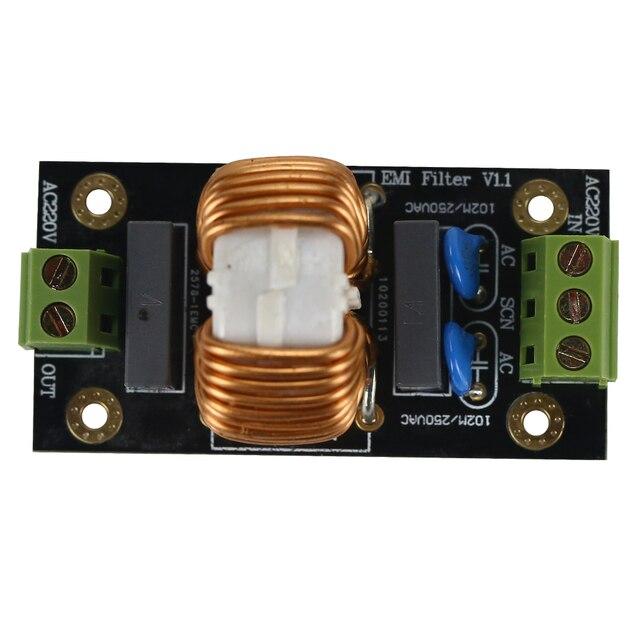 18A EMI Filter Amplifier Power Supply Filter Board For High Power Amplifier 100W