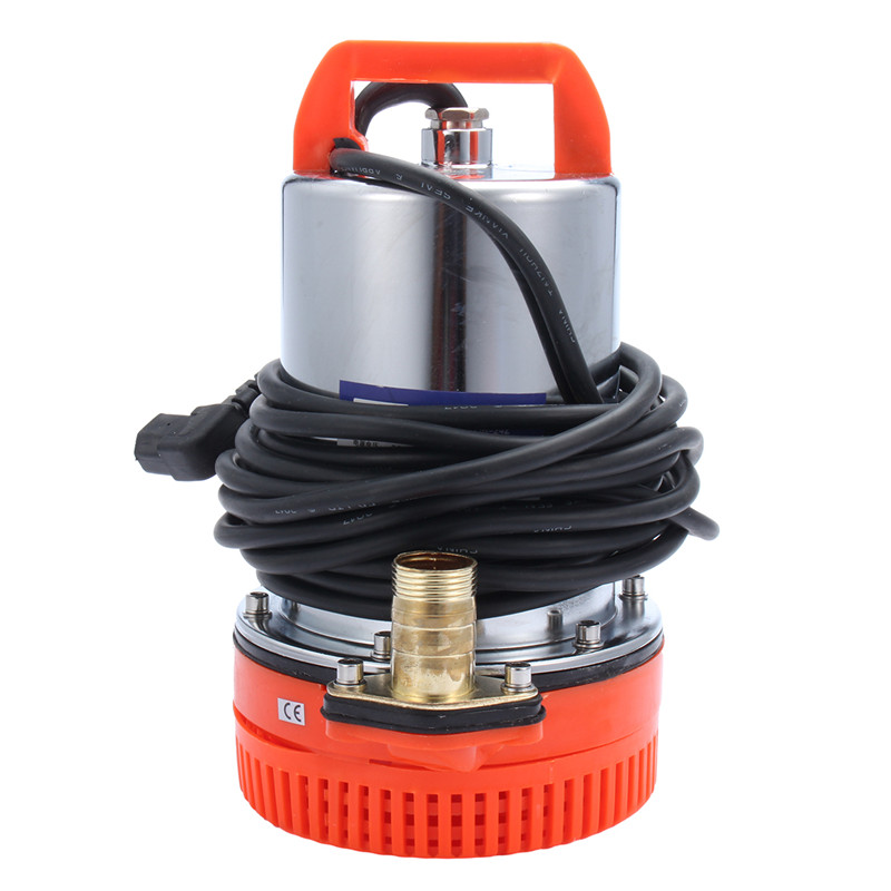 Best Price DC 48V Submersible Water Pump Stainless Steel Electric Battery Car Boat Clean Swimming Pond Pool 12v dc electric mini water circulation pump brushless motor submersible pump for hydroponics medical cooling 280l h car styling