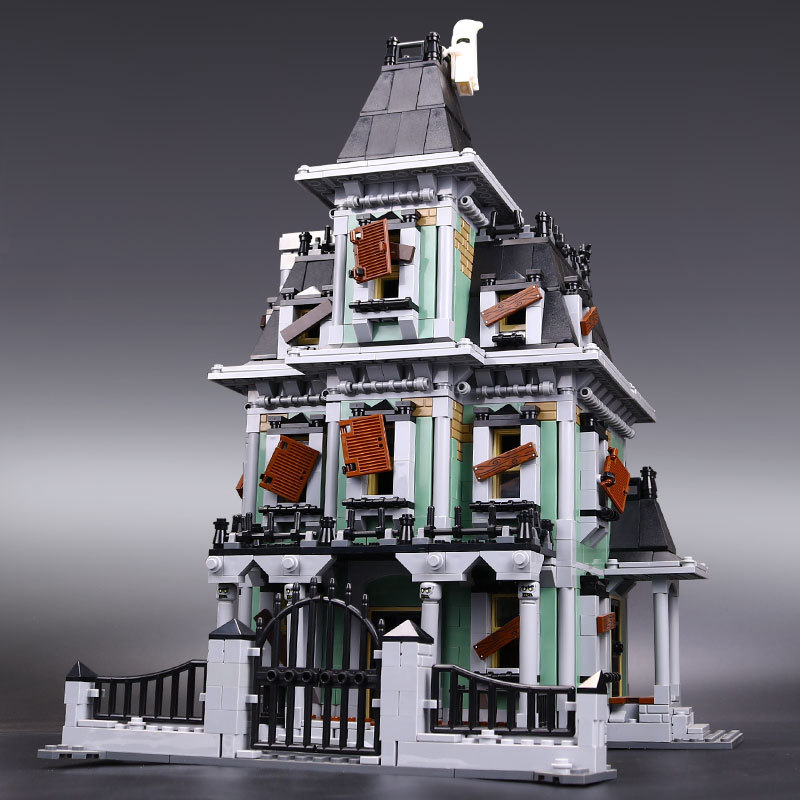16007 2141Pcs Monster fighter The haunted house Model set Building for Kit DIY Educational Gift Compatible With 10228 the monster next door