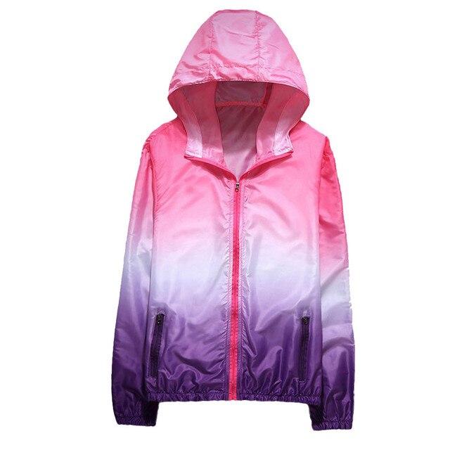 2537ddef919 2018 hoodie Women Men Autumn Printing Long Sleeve Sunscreen Hooded Sweatshirt  zip up hoody unisex poleron mujer