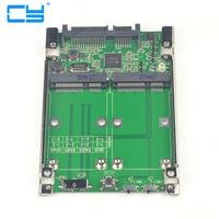 2 5 Dual Mini Pcie PCI E Pci Express Pci Express MSATA RAID SSD Adapter To