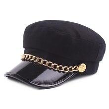 1827739a7ca84 Sombrero de las mujeres del ejército sombreros gorras de gorra de marinero  marino gorro marinero militar marino sombrero de vise.