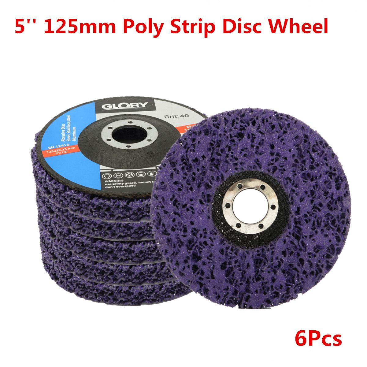 2 unids 125mm 5 pulgadas 40 arena disco de rueda para amoladora de ángulo