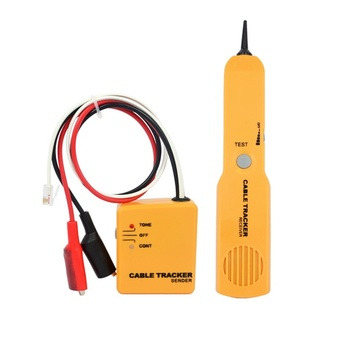 kebidumei RJ11 Network Phone Telephone Cable Tester Toner Wire Tracker Tracer Diagnose Tone Line Finder Detector Networking Tool
