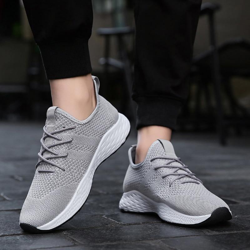 Verano Aire Malla Adulto 028 Zapatillas Caminar De Gray Para Tenis Libre Moda Hombre Transpirable Deporte Al Zapatos Hombres Casuales Calzado ww8tATqW