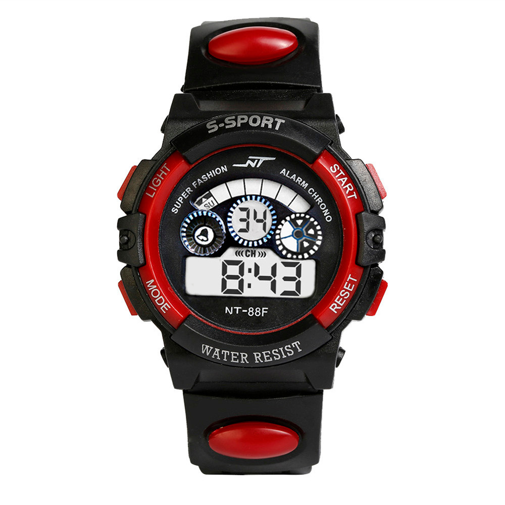 Waterproof Mens Boy's Digital LED Quartz Alarm Date Sports Wrist Watch 2019 New Men's Watch Digital Sport Watch Watch Men Relog