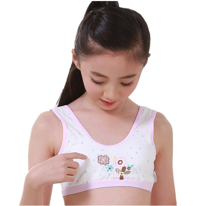 af9f558a1ac Puberty teenager tank tops underwear set for girls children sports camisole  boxer panties for puberty kids girls cosy undies-in Tanks   Camis from  Mother ...