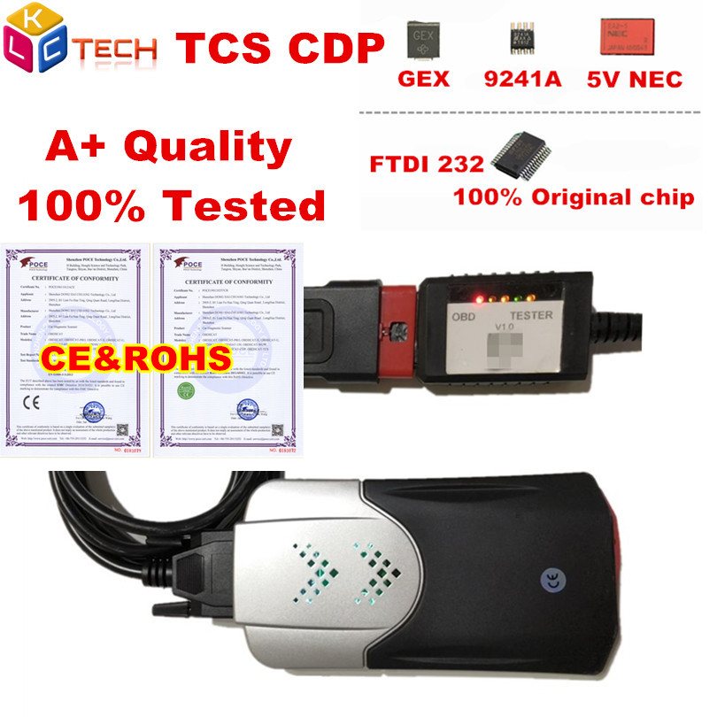 10pcs/lot Dhl New Tcs Cdp V3.0 Board Obd2 Car Truck Nec Relay Bluetooth As Mvd Obd Ii Scanner 2016 Software Auto Diagnostic Tool Bracing Up The Whole System And Strengthening It Code Readers & Scan Tools