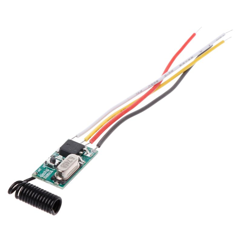 Light Switch Receiver Module 12V 5V 24V 433Mhz Wireless Remote Control LED
