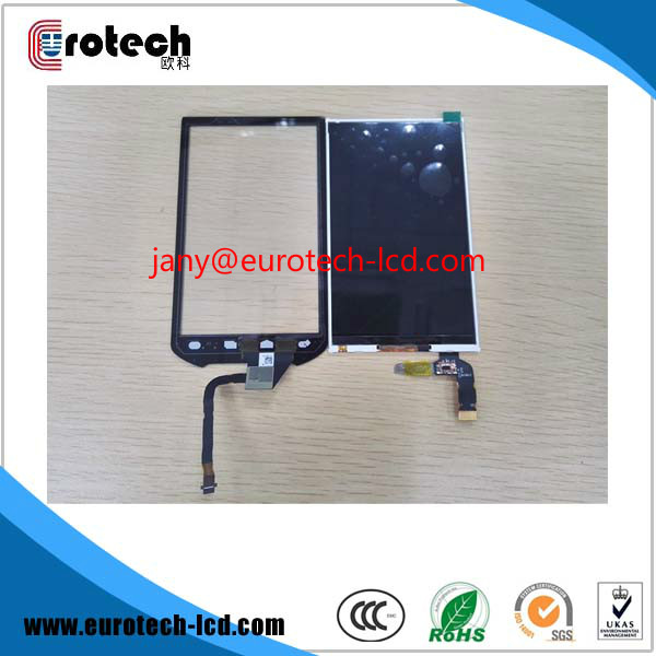 Original lcd display screen with touch digitizer for Symbol MC40 lcd 32e9bd motherboard 40 00ms68 mae2xg with 320ap09 screen