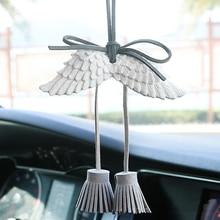 Автомобильный кулон подвесные крылья автомобиля интерьерные украшения заднего вида аксессуары для зеркал для автомобиля ОРНАМЕНТ