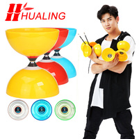 Speed 5Bearing Toys Professional Diabolojuggling Set Packing with String Bag china
