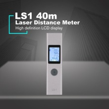 LS1 Handheld Laser Distance Meter Mini Rangefinder Tape Range Finder Diastimeter Measure 40M