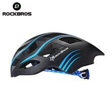 ROCKBROS Дорожный Велосипед Велоспорт Сверхбыстрой Шлем Сверхлегкий интегрального под давлением В пресс-форме Велосипедный Мужчины Шлем Каско Ciclismo 5 цвета
