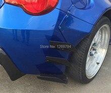 SCION FRS GT86 GTS FT86 BRZ Auto car Carbon fiber Rear bumper vents splitter aprons