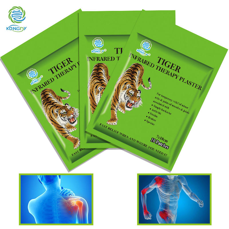30 Pieces/3 Bags Pain Relief Patches Tiger Balm Plaster Treatment Muscular Pain Stiff Shoulder Joint Patch Relief Rheumatoid 56pcs 7bags far ir treatment tiger balm plaster muscular pain stiff shoulder patch relief spondylosis health care product c204