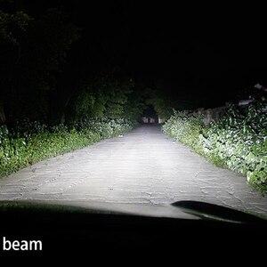 Image 5 - DLAND OWN D40, focalisation à 360 degrés, 90W 6000LM, ampoule AUTO LED avec puce CREE H1 H3 H7 H11 HB3 HB4 880 881