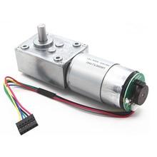555 encoder geared motor, worm gear 5840-555 motor