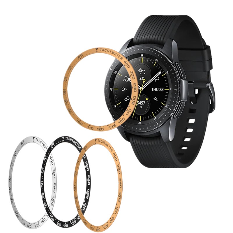 Smart Watch Bezel Ring For Samsung Galaxy S2 S3 Protect Cover Anti Scratch Metal Sticker For Galaxy Gear Watch 42/46mm Accessori image
