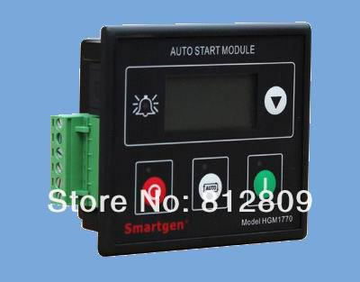 HGM1770  controller for small diesel genset or gasoline  auto start module dse702 as genset controller electronic auto start controller module generator