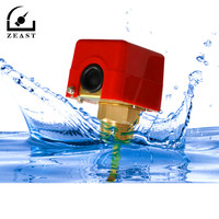 HFS 25 1inch 220VAC 3A Water Paddle Flow Sensors Male Thread Flow Paddle Water Pump Flow