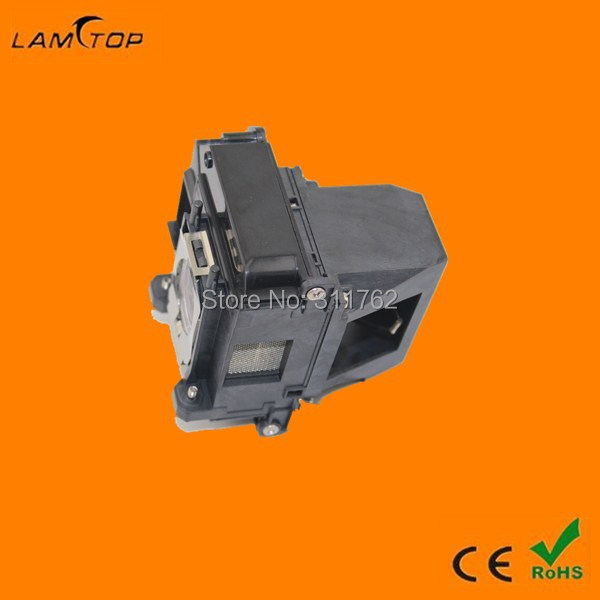 Original  projector bulb/projector lamp with housing/cage  ELPLP61  fit for EB-430 EB-435W free shipping free shipping compatible projector bulb projector lamp with cage vt80lp fit for projector vt57