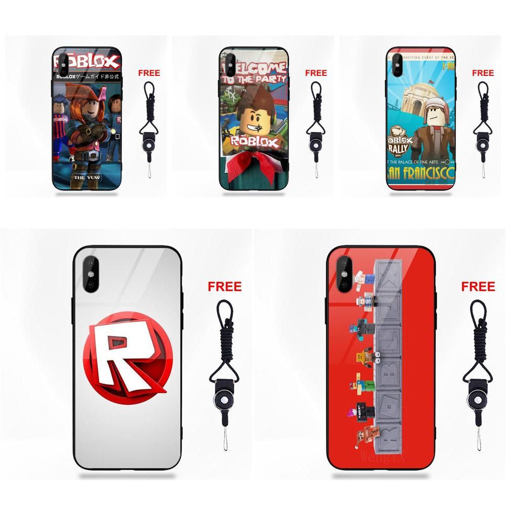 Roblox game Hard and transparent phone case for iphone 6 6s