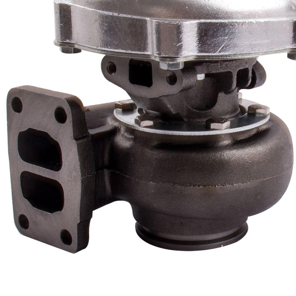 T70 Turbo Turbocompressore T3 Flangia 0.7 a/R di Scarico Olio Olio di Ritorno Linea di Alimentazione Tubi 500BHP 1.8L 3.0L motori Universale Turbo Turbina - 6