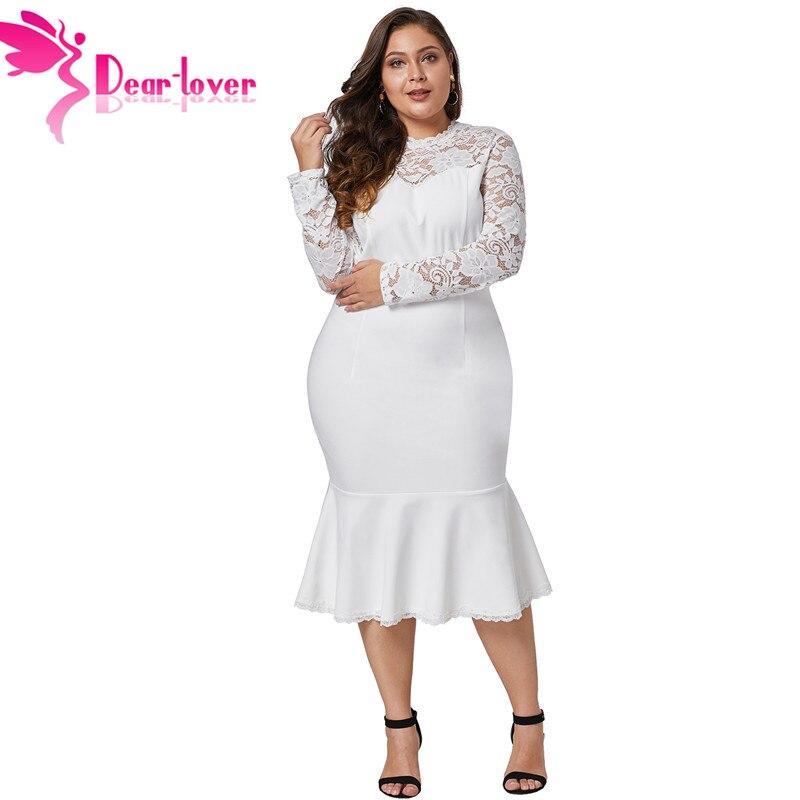 Dear Lover 5XL Bodycon Party Dress Spring Women Dress Plus ...